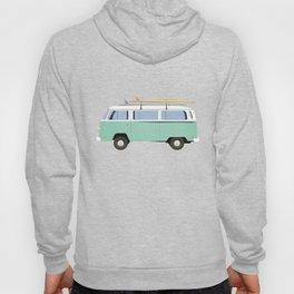Summer surf bus pattern Hoody