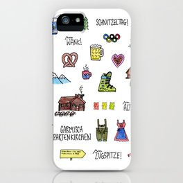 Garmisch Partenkirchen iPhone Case