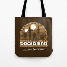 Droid Bar Tote Bag