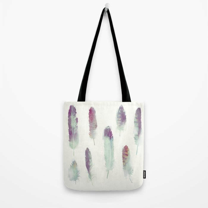 Feathers // Birds of Prey Tote Bag