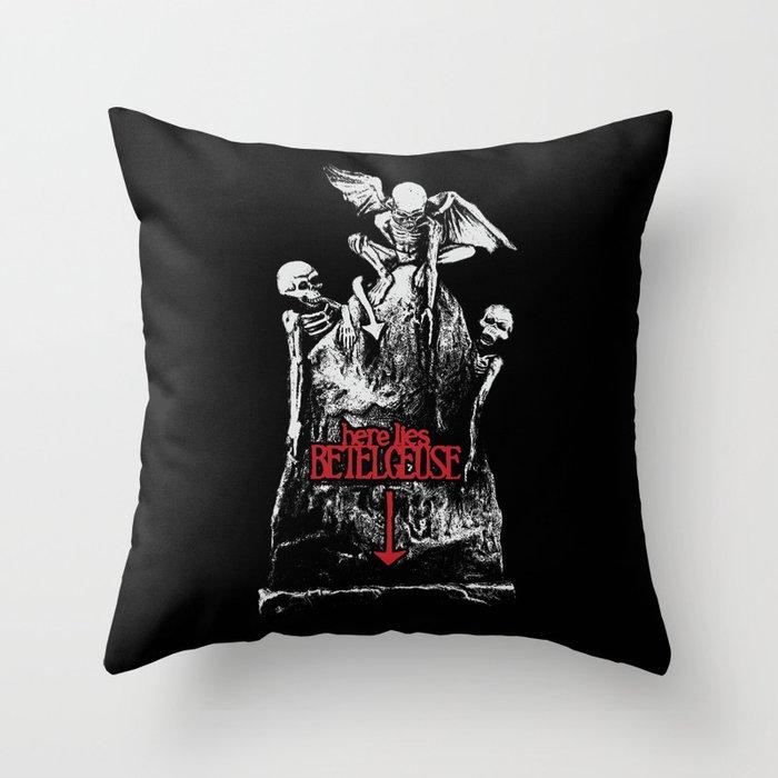 Betelgeuse Grave Throw Pillow