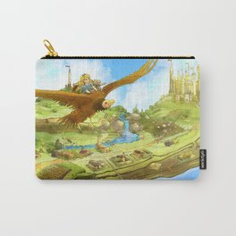 Flying On Polly Over an Enchanted Land Carry-All Pouch