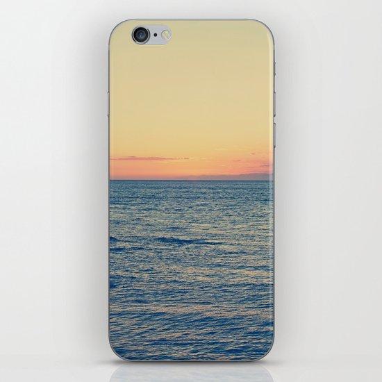 Sunset Over Ocean iPhone & iPod Skin