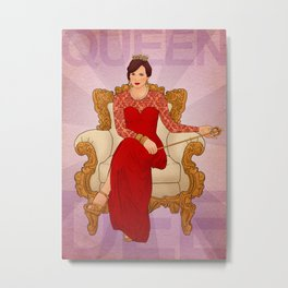 Queen Dee! Metal Print