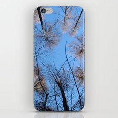 Glowing trees II iPhone & iPod Skin