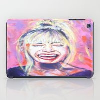 allyson johnson iPad Cases featuring Betsey Johnson by AntiPosi