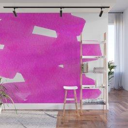 Superwatercolor Pink Wall Mural