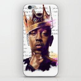 KingKendrick iPhone Skin