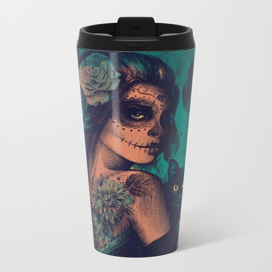 UNTIL THE VERY END Metal Travel Mug