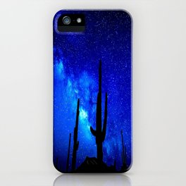 The Milky Way Blue iPhone Case