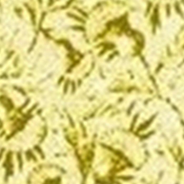 Vintage Floral Lemon Yellow Leggings