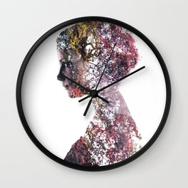 Human Nature Wall Clock