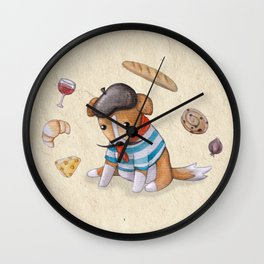 Chiot Tentaculaire Wall Clock