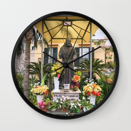 Father Pray For Me Wall Clock