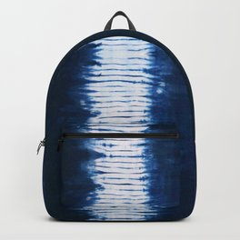 -A22- Indigo Traditional Original Arteresting Artwork. Backpack