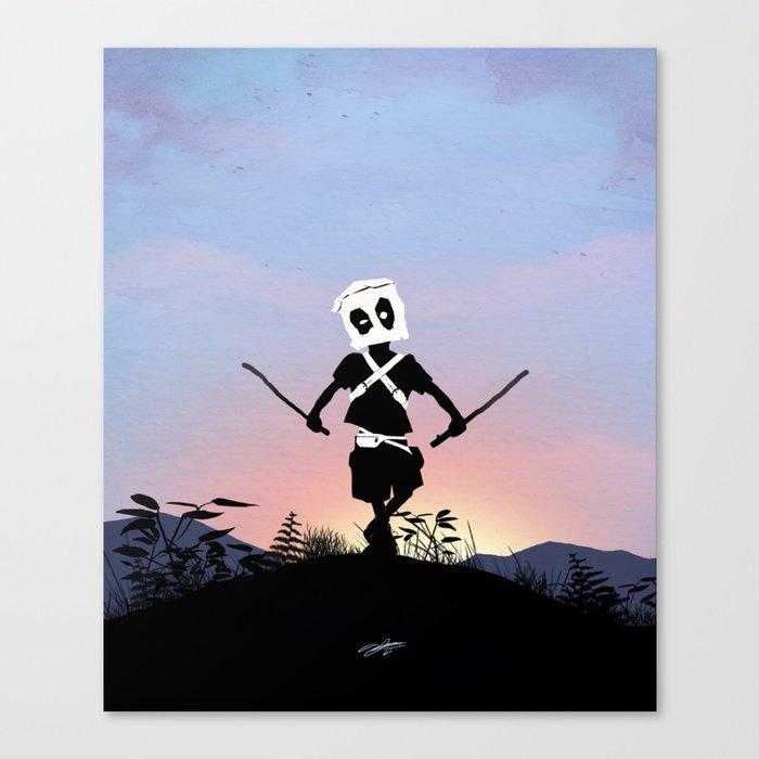 Deapool Kid Canvas Print