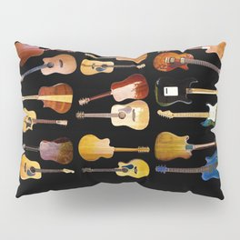 Guitars Galore Pillow Sham