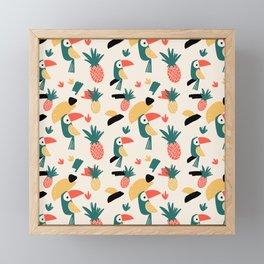 Tropical Friends Framed Mini Art Print