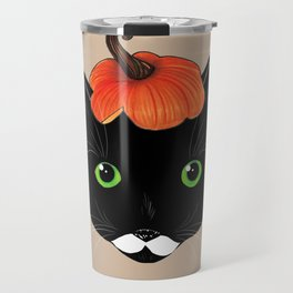 Pumpkin Kitty Travel Mug