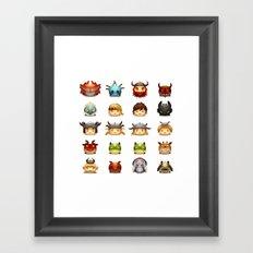 Little Dragons Framed Art Print