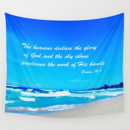 Psalm 19 Wall Tapestry