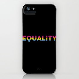 cool saying Pansexuality Pansexual LGBTQ LGBT design iPhone Case
