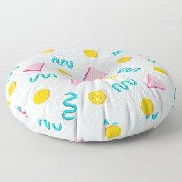 Geometric Memphis Floor Pillow
