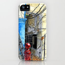 Wire and More Wires iPhone Case