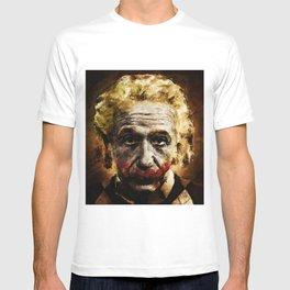 Einstein The Joker (Relatively Funny) T-shirt