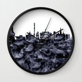 Copenhagen Skyline Denmark Wall Clock