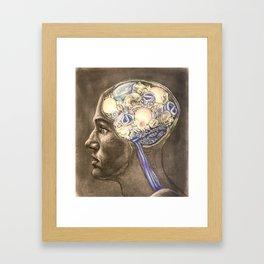 Enlightened Mind Framed Art Print