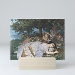 Gustave Courbet - Les Demoiselles des bords de la Seine Mini Art Print