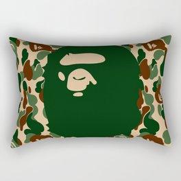 Hypebeast ape Camo Pattern Rectangular Pillow