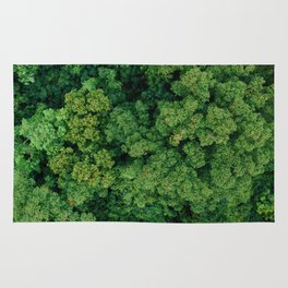 Greenery Forest (Color) Rug