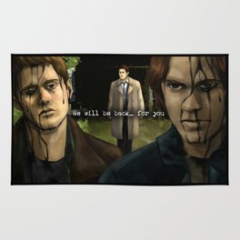 We will be back... for you - Supernatural Rug