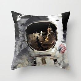 Last Contact Throw Pillow