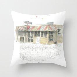 5 Majoribanks Street, Wellington Throw Pillow