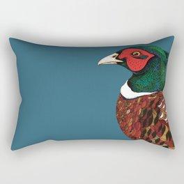 Woodland Pheasant  Rectangular Pillow
