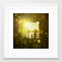 Chicago Waits Framed Art Print