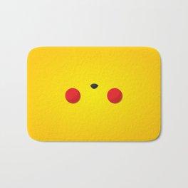 Yellow Face Bath Mat