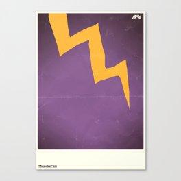 Thunder Dan Canvas Print