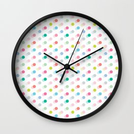 Mini Geo Hexagon Wall Clock