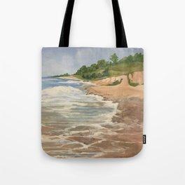 Lake Michigan Summer Tote Bag