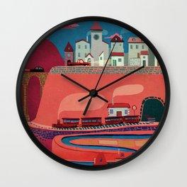 my village Wall Clock