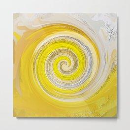 257 - Abstract Spiral Design Metal Print