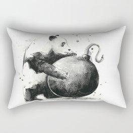 Panda Boom Rectangular Pillow