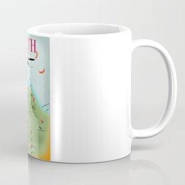 Leith Scotland travel map. Coffee Mug