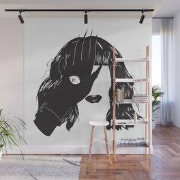 Yekaterina Petrovna Zamolodchikova Black&White Wall Mural