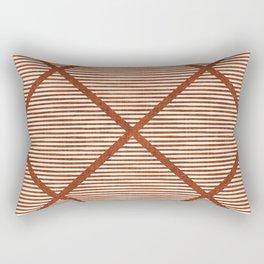 Chisel In Rust Rectangular Pillow