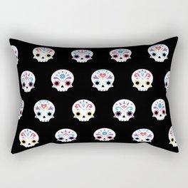 Cute sugar skulls B Rectangular Pillow